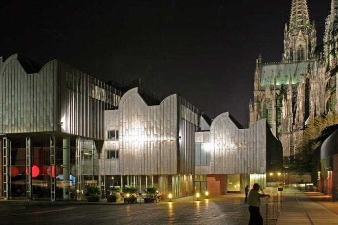 Noč muzejev v Kölnu.