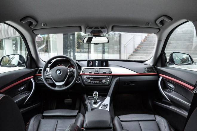 BMW 3GT - Notranjost je tudi zaradi povečane višine povzročala drugačne občutke, kot smo jih vajeni iz klasične serije 3.