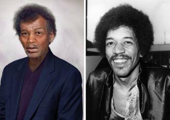 Jimi Hendrix - umrl leta 1970 pri 27-letih.