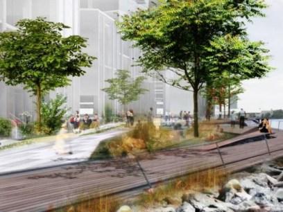 Če Hallets Point trenutno opisujejo kot simpatično mestno sosesko, ki se zdi brezčasna in pozabljena od mesta, to ne bo več prav dolgo. Odobrili so namreč milijardo vreden projekt, ki bo zeleno sosesko spremenil v 2100 luksuznih apartmajev, restavracij, trgovin in promenad.