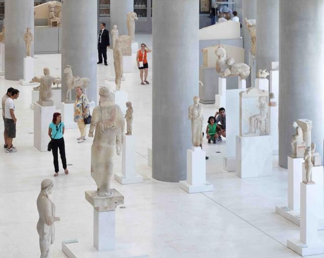 Muzeji v Atenah nam ponujajo vpogled v temelje evropske kulture.