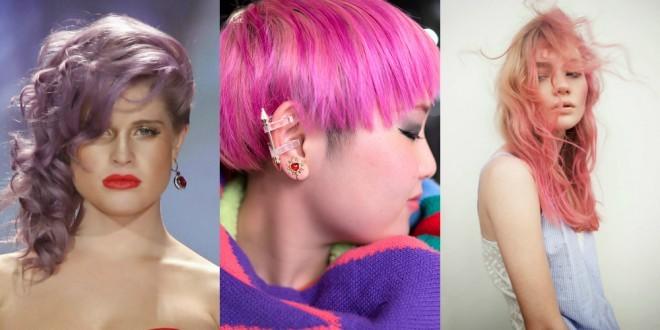 Roza ni le letošnji trend med oblačili in dodatki, temveč tudi vroča barva za lase.