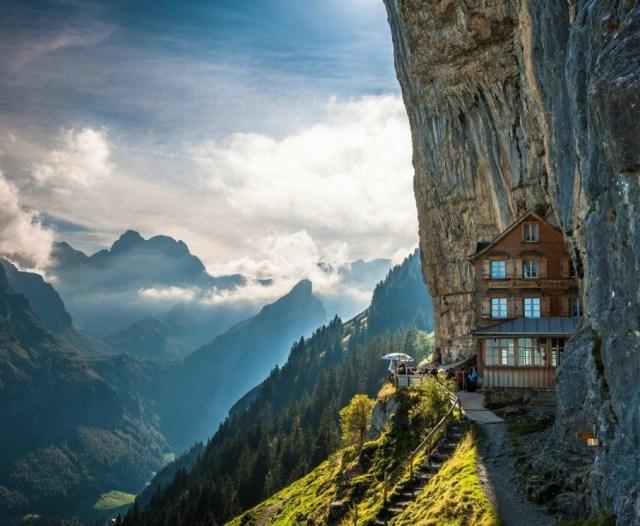 Aescher, Švica.