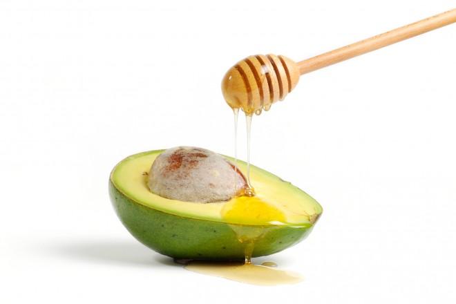 Med in avokado