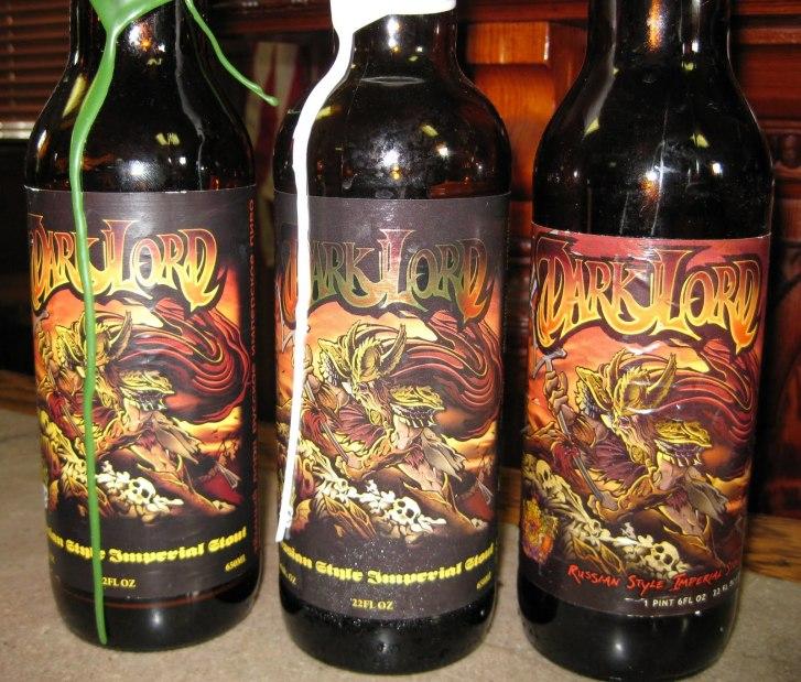 2. Three Floyds Brewing - Dark Lord Russian Imperial Stout. To temno pivo prihaja iz Munstra v Indiani (ZDA). Ocena: 4.479/5