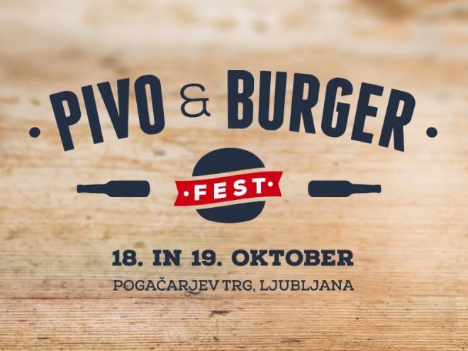 Prvi Pivo & Burger fest v Ljubljani