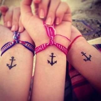 Matching-best-friend-wrist-tattoos