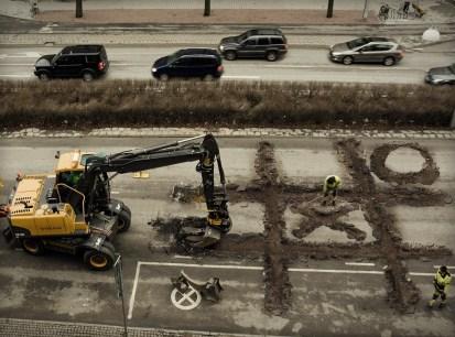 Roadworkers-coffebreak