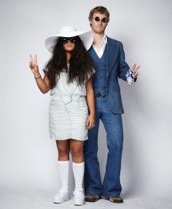John Lennon in Yoko Ono