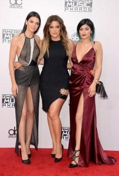 Kendall Jenner, Khloe Kardashian in Kylie Jenner