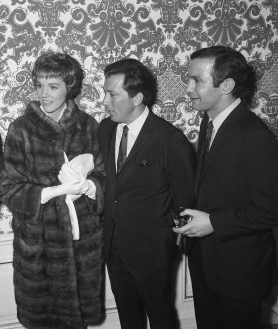 Julie Andrews, Andy Willimas in Ben Gazzara.