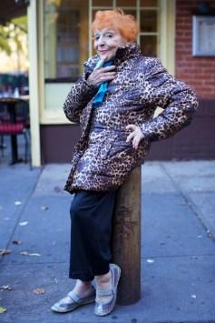 95 letna umetnica Ilona.