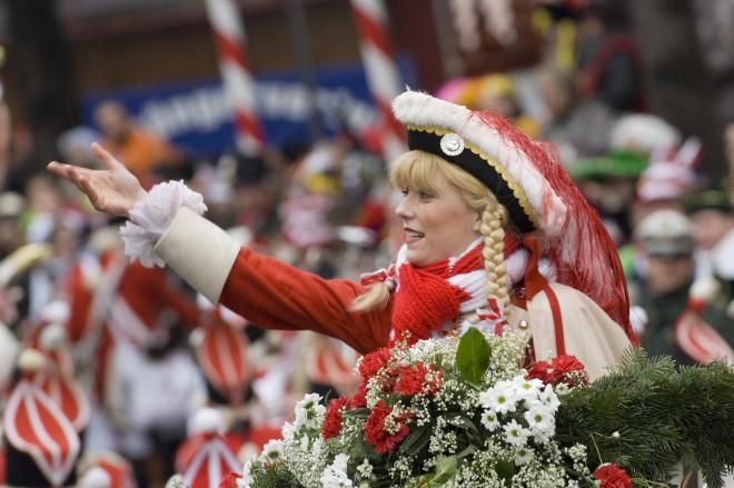 Največje nemško pustovanje poteka v mestu Köln.