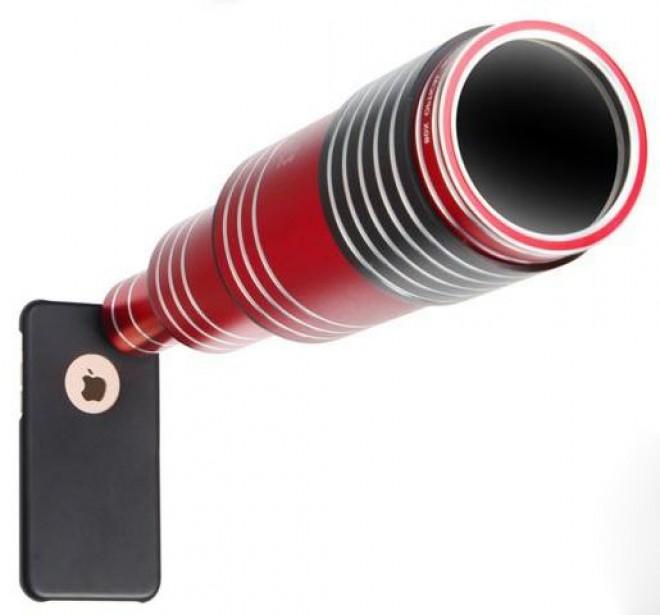 S teleskopskim objektivom Super Spy za pametne telefone se boste med fotografiranjem počutili kot kak starodavni kapitan ladje.