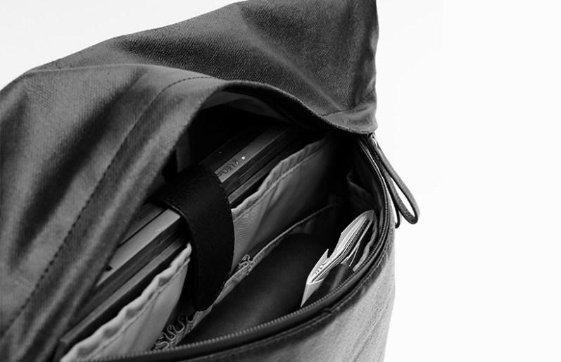 HiSmart torba združuje minimalizem in visoko tehnologijo.