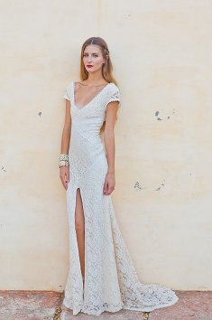 Boemske poročne obleke