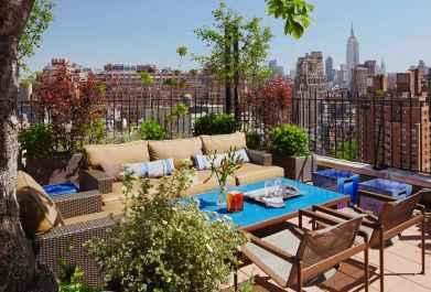 Terasa v Greenwich Village, New York