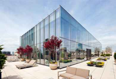 418 kvadratnih metrov velik penthouse v TriBeCi, New York