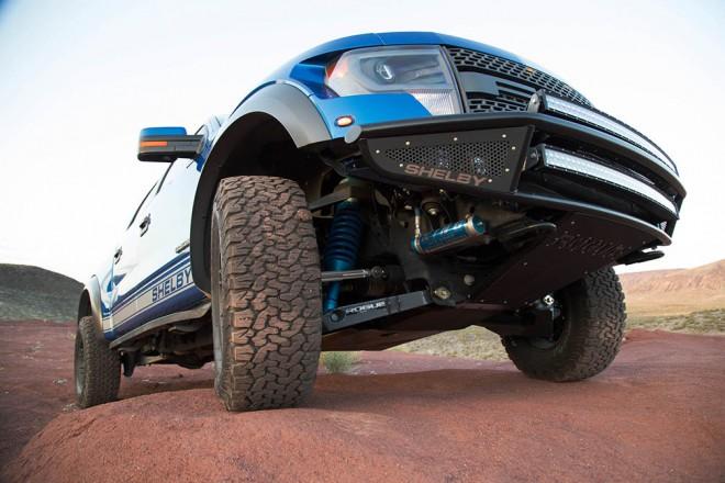 Terenec Ford Shelby Baja 700 je SVT Raptor potem, ko ''poje špinačo''.