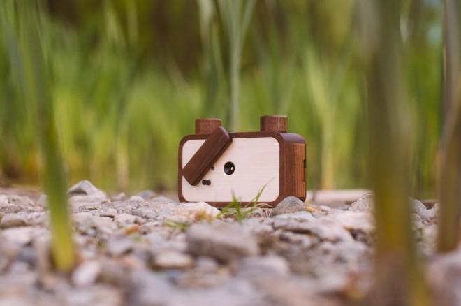 Leseni fotoaparat Ondu Pinhole MK II gre na Kickstarterju po stopinjah predhodnika.