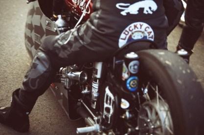 Sprintbeemer - motocikel za dirke v pospeševanju