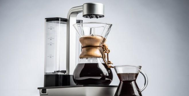 The Ottomatic predstavlja premik od manualne do avtomatske priprave kave.