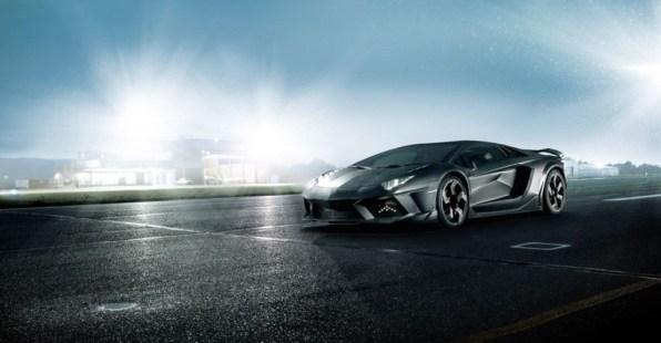 Lamborghini Aventador LP700-4 / Mansory Carbonado - Black Diamond