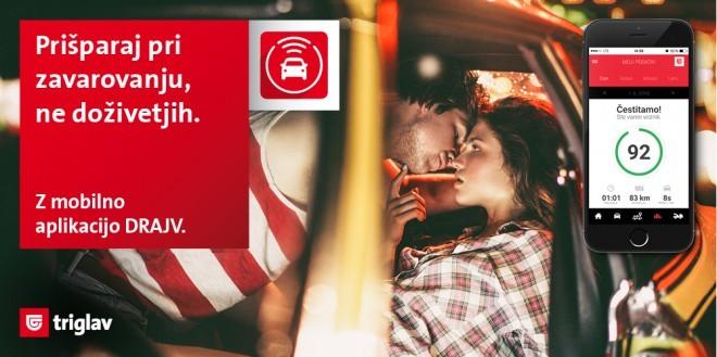 Z aplikacijo želijo pri Zavarovalnici Triglav prispevati k večji varnosti v prometu