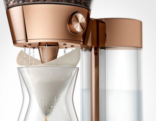 Sodoben dizajn Poppy Pour Over naprave.
