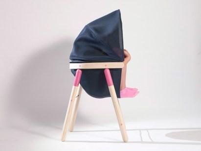 Pomirjujoč otroški stol 'Soothing Chair'