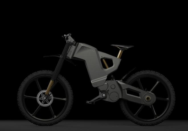 ''Oklep'' e-kolesa Trefecta DRT sporoča, da se kolo ne ustraši nobenega terena.