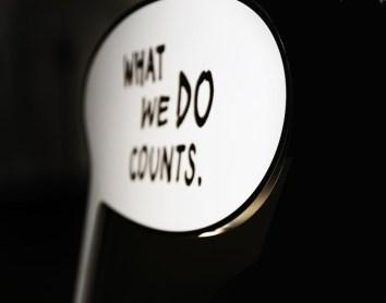 Namizne svetilke What We Do Counts