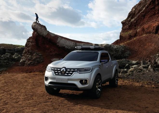 Renault Alaskan napoveduje izid prvega Renaultovega ''pick-upa''.