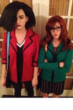Katy Perry in Shannon Woodward kot Jane Lane in Daria