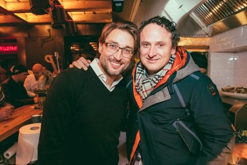 Greg Yurkovich in Sebastjan Raspopović