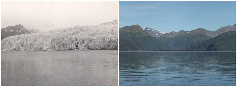 Ledenik McCarty, Alaska. julij 1909 - avgust 2004