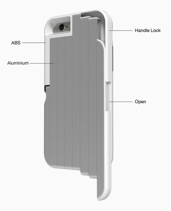 Stikbox, zaščitni ovitek in selfie palica v enem