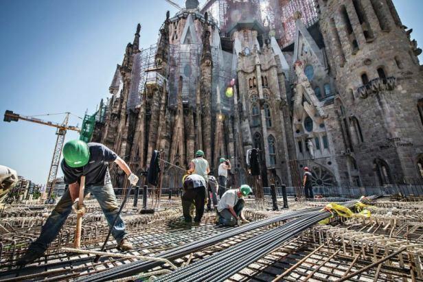 Bazilika svete Družine znana kot Sagrada Familia