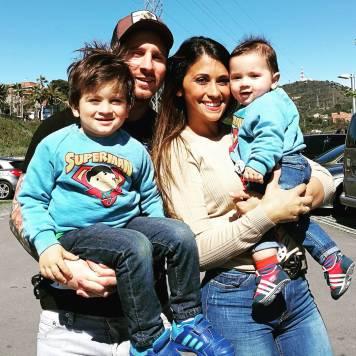 Messi z družino