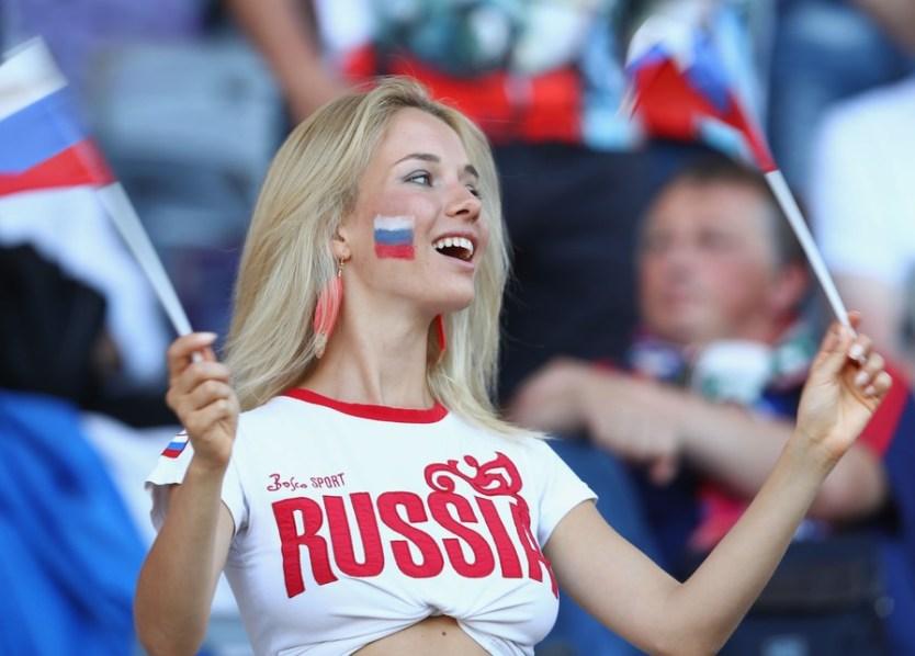 Navijačica Rusije