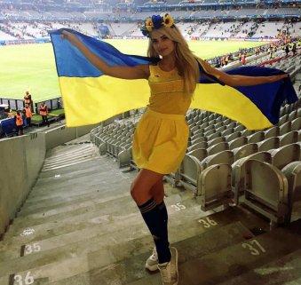 Navijačica Švedske