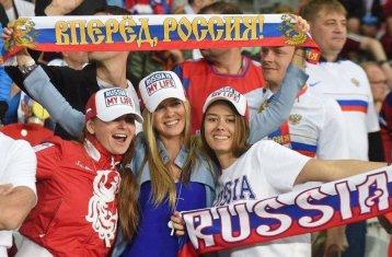 Navijačice Rusije