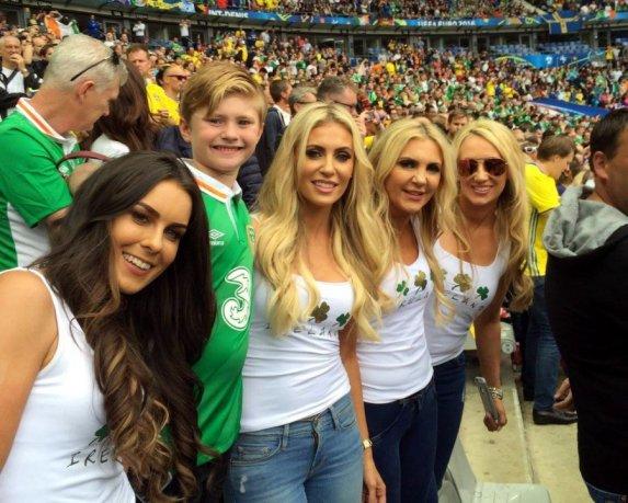 Navijačice Irske
