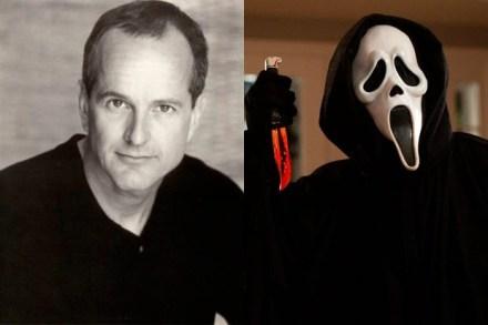 Dane Farwell kot mož za masko iz filmov Krik