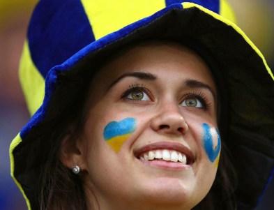 Navijačica Ukrajine