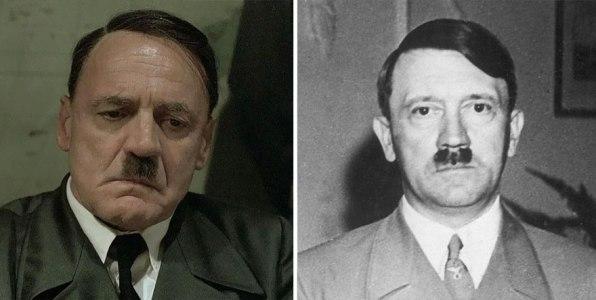 Bruno Ganz kot Adolf Hitler