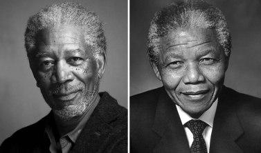 Morgan Freeman kot Nelson Mandela