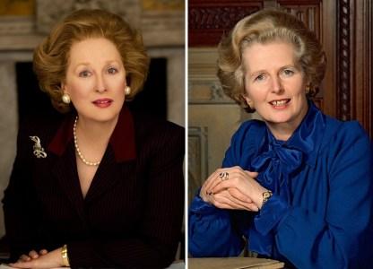 Meryl Streep kot Margaret Thatcher