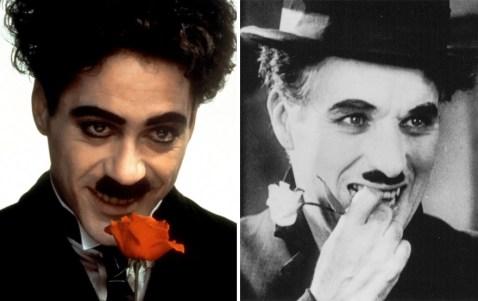 Robert Downey Jr. kot Charlie Chaplin