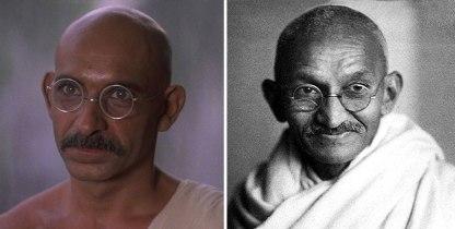Ben Kingsley kot Mohandas Karamchand Gandhi